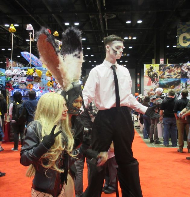 Tall Spooky Guy!