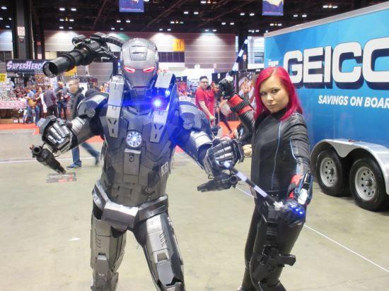 War Machine + Black Widow!