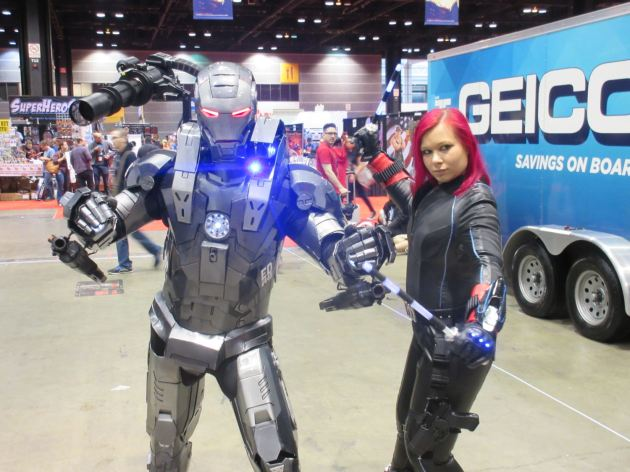 War Machine + Black Widow!
