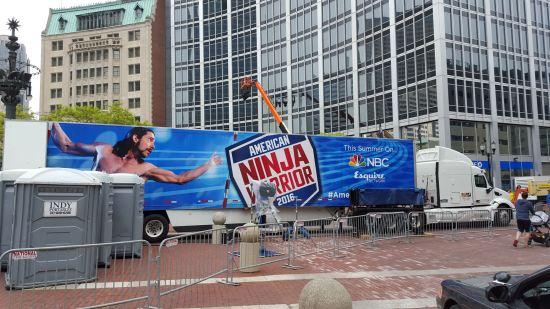 American Ninja Warrior!