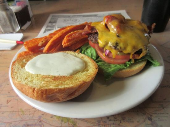 BBQ Bomber Burger!