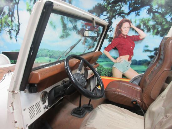 Daisy Duke Jeep!