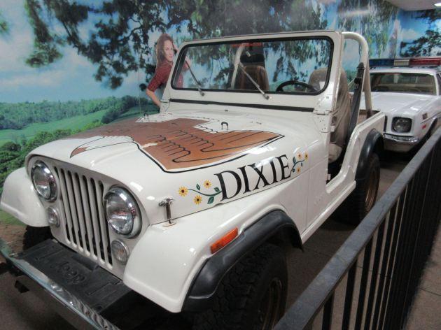 Daisy Duke Jeep!