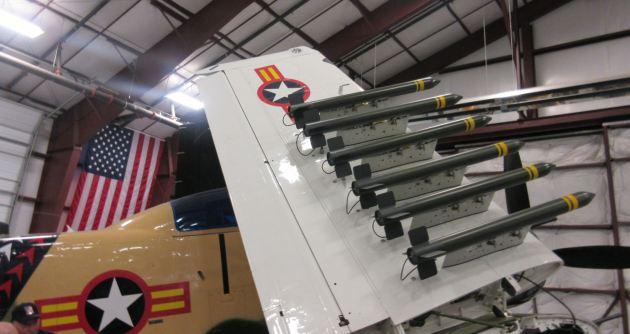 Douglas A-1 Skyraider Missiles!
