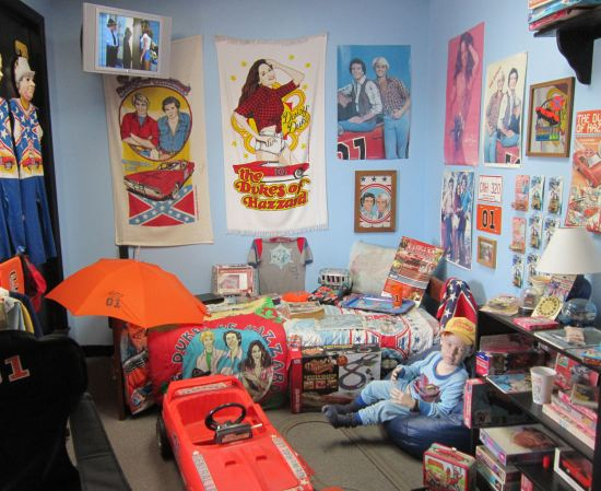 Dukes of Hazzard Superfan Room!