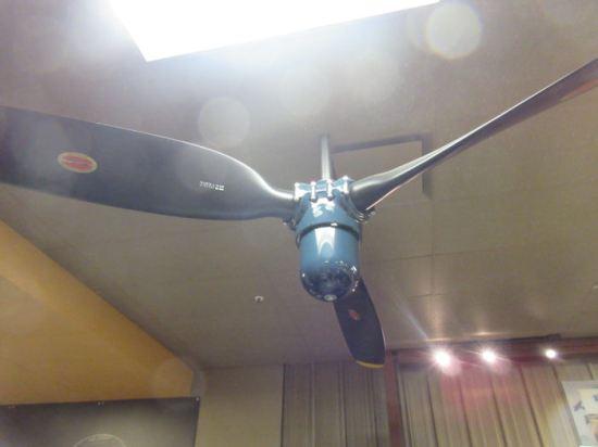 Grauman Hellcat propeller fan!