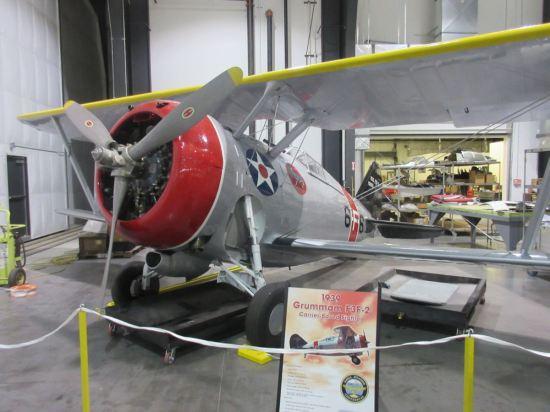 1939 Grumman F3F-2!