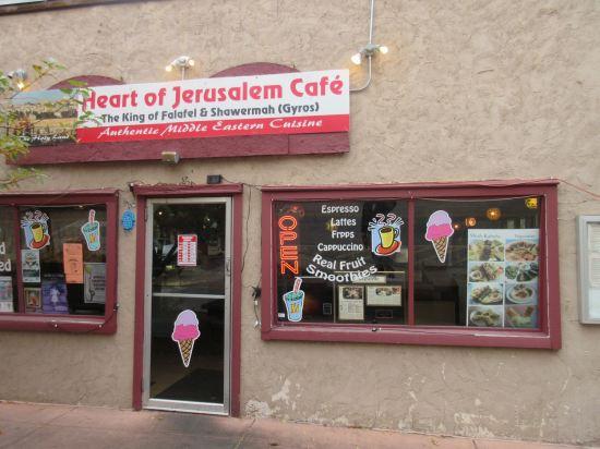 Heart of Jerusalem Cafe!