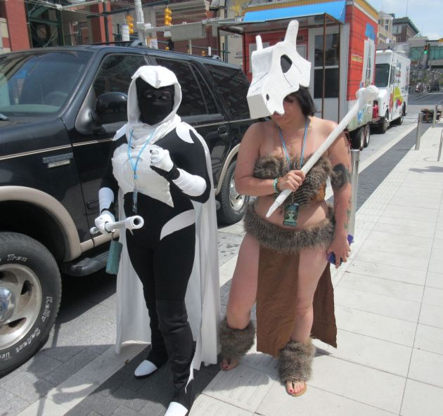 Moon Knight and Cubone!