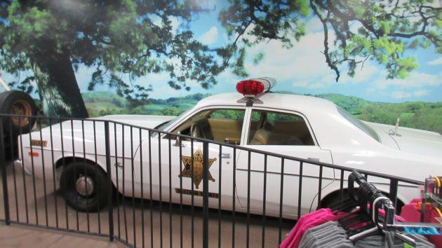 Roscoe's Sheriff Car!