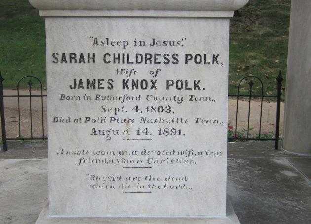 Sarah Polk!