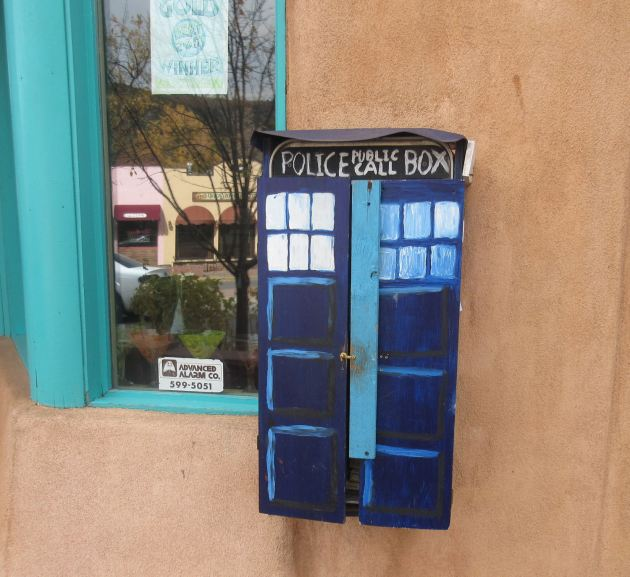 TARDIS Electric Box!
