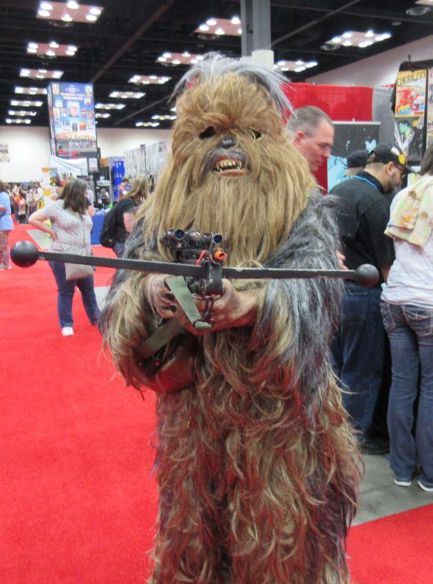 Wookiee + Bowcaster!