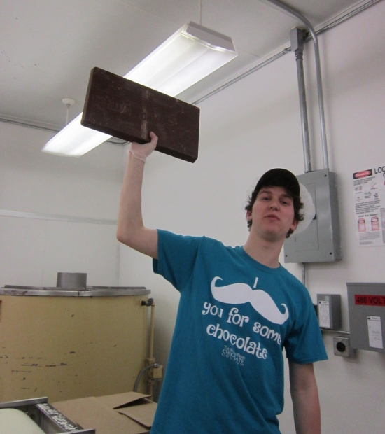 10-Pound Chocolate!