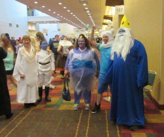 Adventure Time + Thrawn!