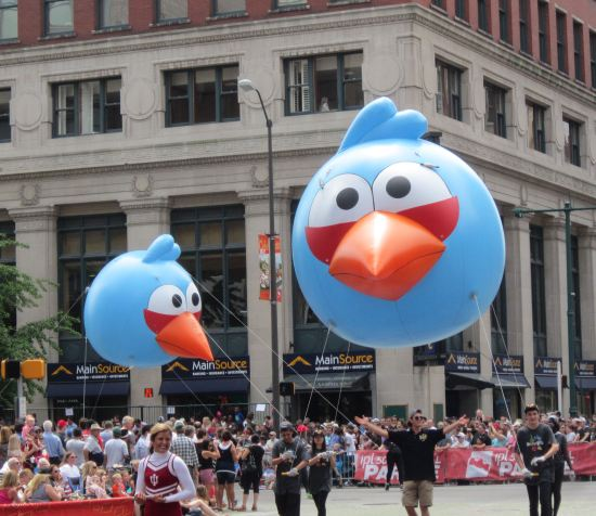 Angry Birds Blue!