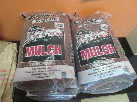 Cocoa Shell Mulch!