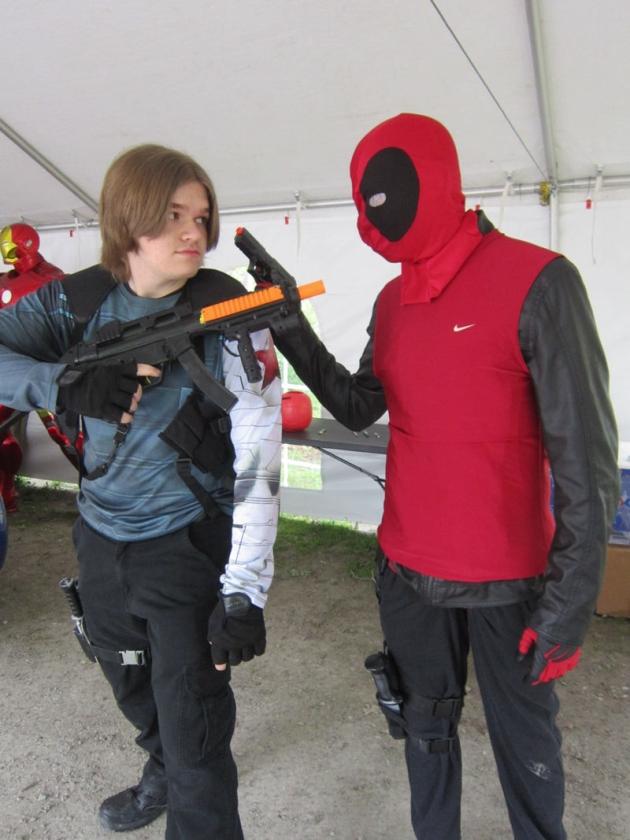 Deadpool + Bucky!