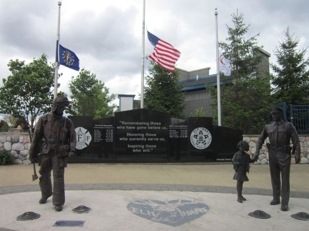 Fire + Police Memorial.