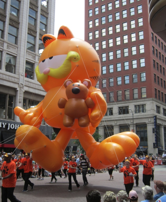 Garfield and Pooky!