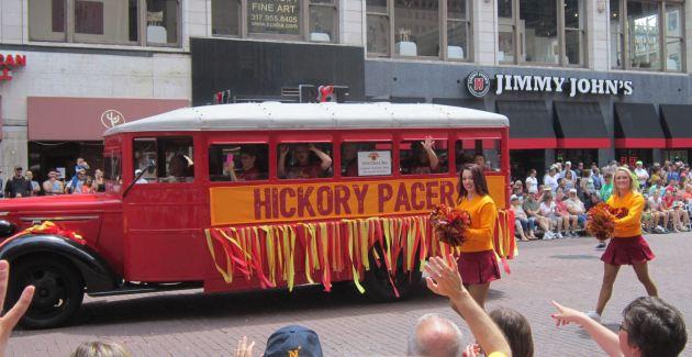 Hoosiers bus!