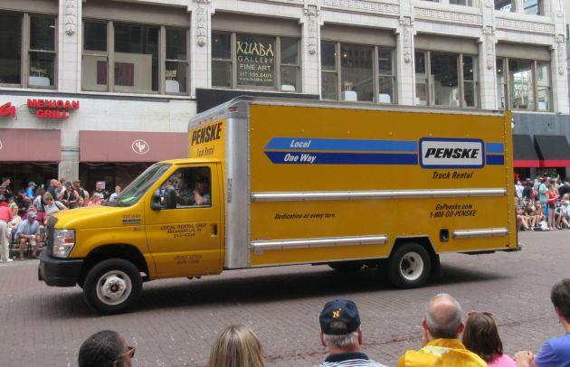 Penske truck!