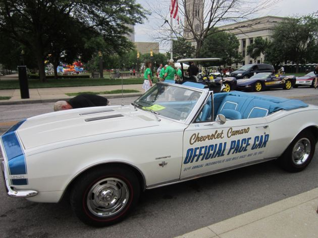 1961 Indy 500 pace car!