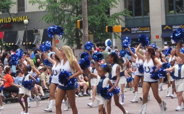Colts Cheerleaders!