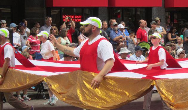 OneAmerica Walking Flag!