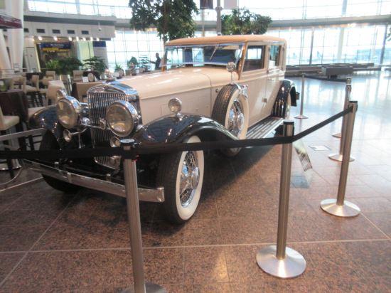 IND Old-Timey Car!