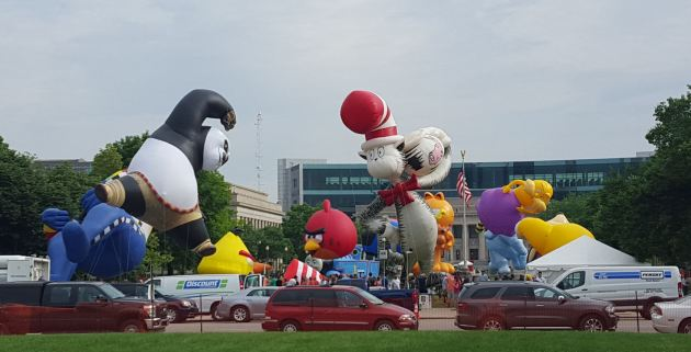 Indy 500 Festival Parade floats!