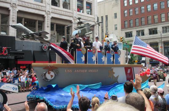 USS Anthem Angels!