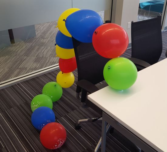 Balloon Centipede!
