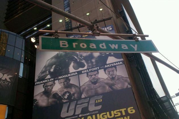Broadway UFC!