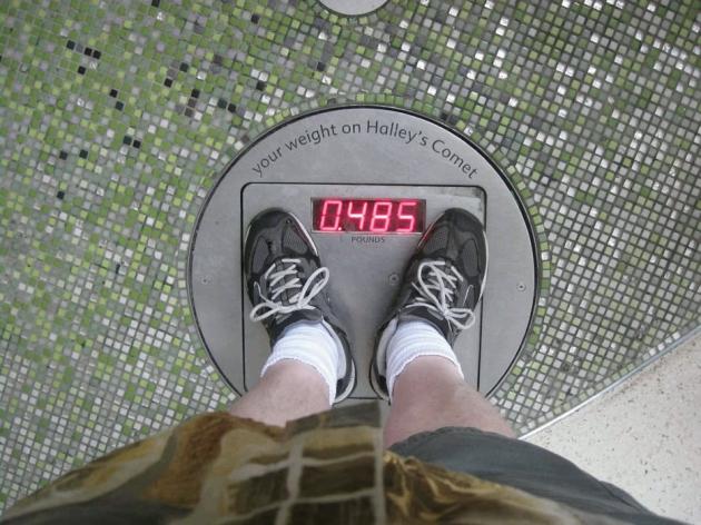 Comet Weight!