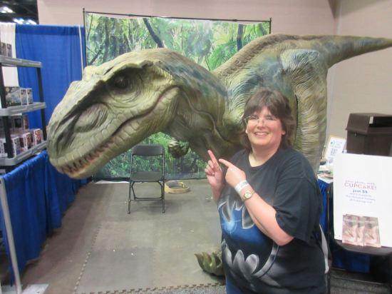 Cupcake the Raptor!