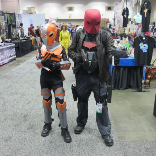 Deathstroke and Red Hood!