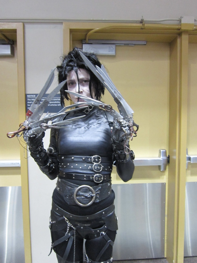 Edward Scissorhands!