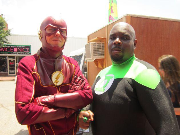 Flash and Green Lantern John Stewart!