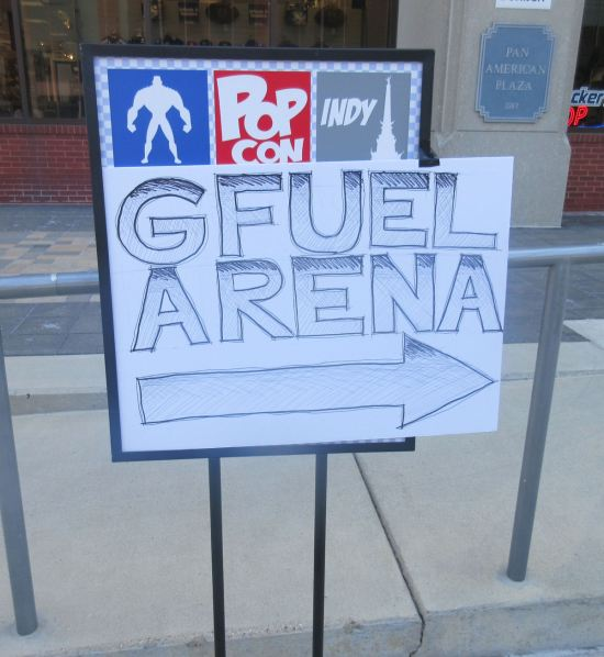 GFUEL Arena Killer Sign!