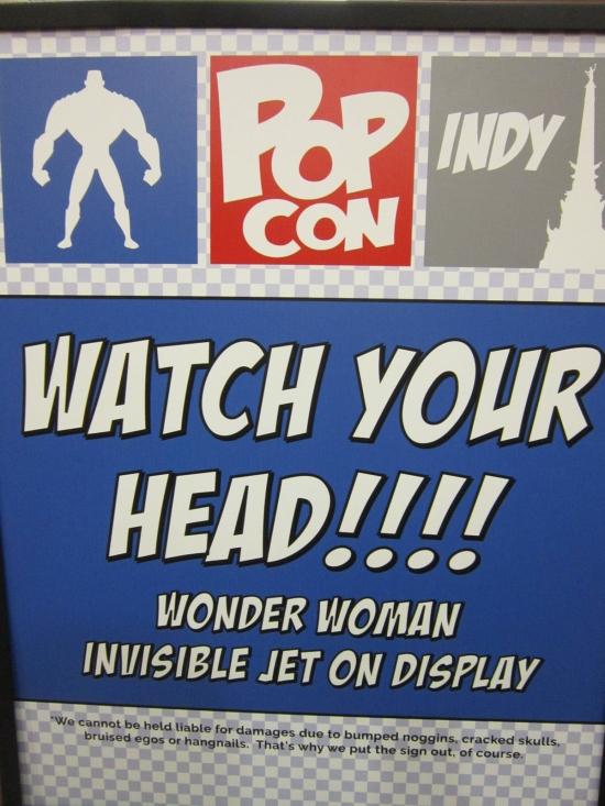 Indy PopCon Sign!