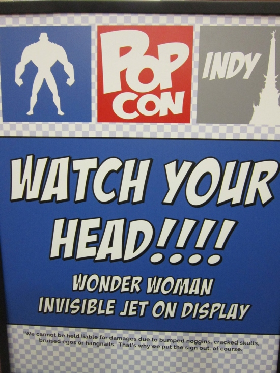 Indy PopCon Sign!