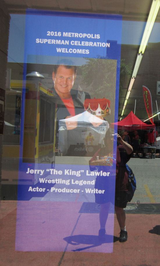 Jerry Lawler Sign!