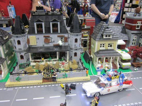 Lego Ghostbusting!