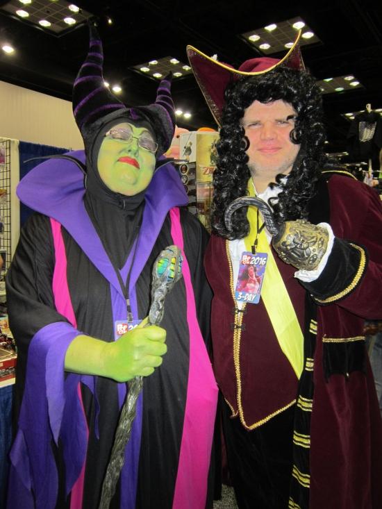 Maleficent + Captain Hook!