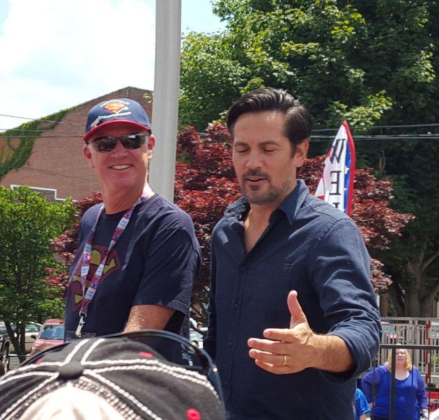 Marc McClure + Michael Landes!