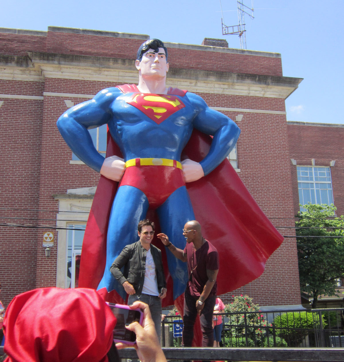 Before And After Merging Two Rooms Has Created A Super: Superman Celebration 2016 Photos #1: The Guys From