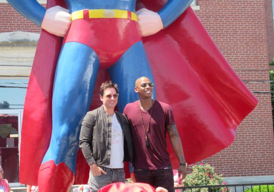 Mehcad Brooks and Peter Facinelli!