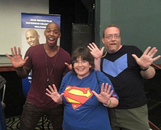 Mehcad Brooks! Jazz Hands!