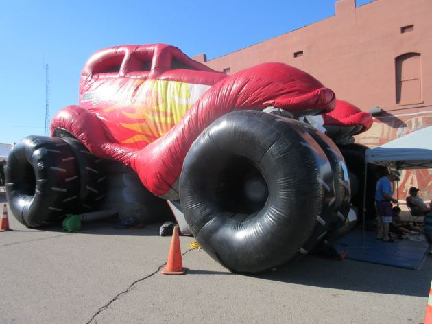 Monster Truck Bouncy House!